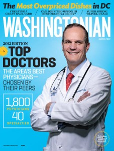Washingtonian Magazine names Dr. Amir Bajoghli Top Doctor for 2012