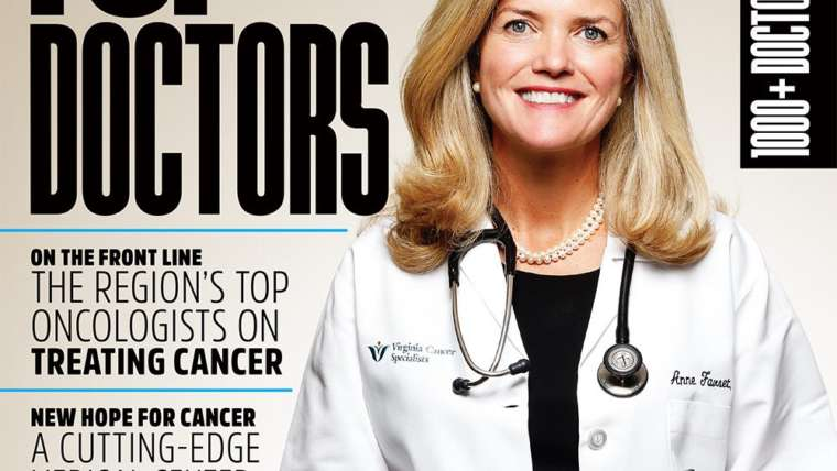 Dr. Amir Bajoghli Recognized as Top Doctor by Northern Virginia Magazine